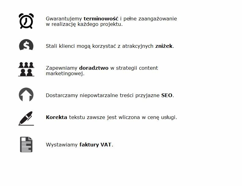 pisanie tekstów na stronę Śląsk